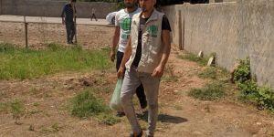 Silopi'de ihtiyaç sahiplerine kurban eti ulaştırılmaya devam ediyor