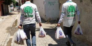 Umut Kervanı Cizre'de muhtaçlara kurban eti ulaştırdı