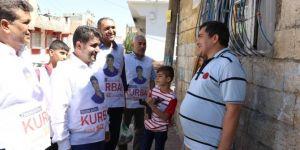 HÜDA PAR Gaziantep İl Başkanlığından anlamlı kurban eti dağıtımı