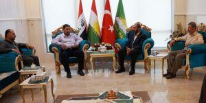 HÜDA PAR Erbil Temsilciliğinde ziyaretler devam ediyor