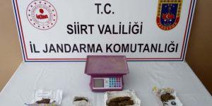 Kurtalan'da uyuşturucu ticareti yapan 2 kişi gözaltına alındı