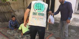 """""""Umut Kervanı Malatya"""" 132 aileye kurban eti ulaştırdı"""