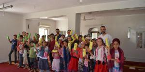 Kozluk'ta Kur'an kursu öğrencilerine diş sağlığı eğitimi