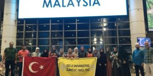 Dicle Üniversitesi öğrencileri Malezya'da