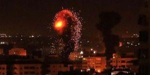 İşgalciler Gazze'ye saldırdı: 3 Şehid