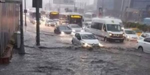 Downpours cause flood in Istanbul: one dead