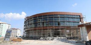 Şahinbey ilçesindeki sosyal alanların inşaatı devam ediyor