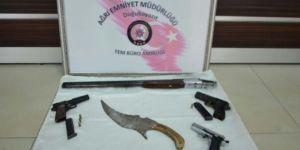 Ağrı'da 9 PKK'li gözaltına alındı