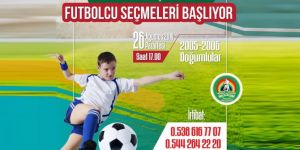 Bingöl'de futbolcu seçmeleri başlıyor