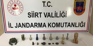 Şirvan'da tarihi eser kaçakçılığı operasyonu