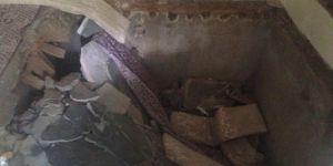 Gaziantep Şehitkamil'de evin zemini çöktü: 7 yaralı