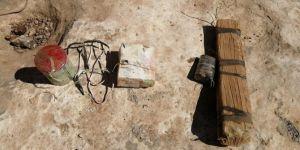 Eruh'ta toprağa gömülü patlayıcı imha edildi