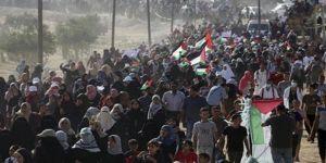 Siyonistler Gazze'deki Filistinlileri göçe zorluyor