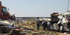 Nusaybin-Kızıltepe Karayolu'nda zincirleme kaza: 1 ölü 3 yaralı