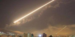Siyonist rejim Suriye'deki İran hedefleri vurdu iddiası