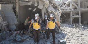 Esad'ın uçakları İdlib'te yine sivilleri vurdu