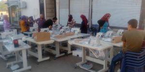 Viranşehir'de mülteci aileye istihdam desteği