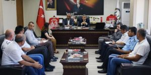 Belediye başkanlarından Hilvan Belediyesi'ne ziyaret