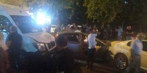 Diyarbakır'da zincirleme trafik kazası