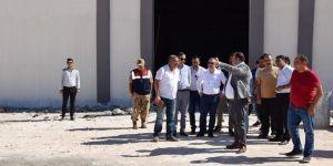 Viranşehir'de 600 kişinin istihdam edileceği giyim fabrikası bitme aşamasında