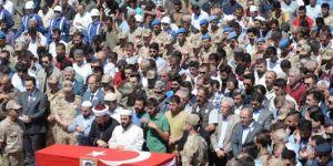 Ömerli'de PKK saldırısında hayatını kaybeden asker toprağa verildi