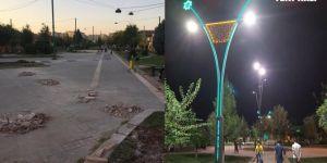 Gulan Parkı Bağlar Belediyesi tarafından yenilendi