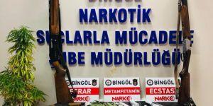 Bingöl ile Diyarbakır'da uyuşturucu operasyonu: 28 gözaltı