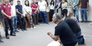 Şanlıurfa'da 112 Acil Çağrı Merkezi personeline eğitim verildi