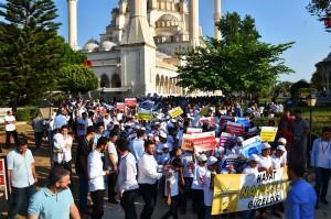 """Adana'da """"Hayat Namazla Güzeldir"""" etkinliği düzenlendi"""