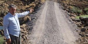 Karacadağ çevresindeki köy yollarına menfez köprü çalışması başlatıldı