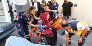 Oturma eylemi yapan annelerden biri kriz geçirdi
