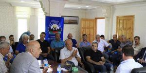DTSO Başkanı Kaya Sanayi Sitesi esnaflarıyla bir araya geldi