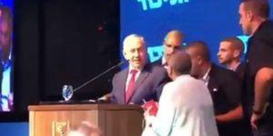 İşgal vadeden Netanyahu roket alarmı verilince sığınağa kaçtı