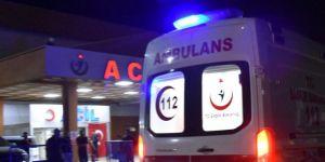 Nurdağı'nda iki otomobil çarpıştı: 3 yaralı