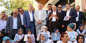 154 aşiret liderinden ailelere destek ziyareti