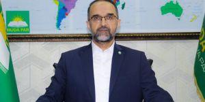 HÜDA PAR Genel Başkanı Sağlam'dan Kulp'taki saldırıya tepki