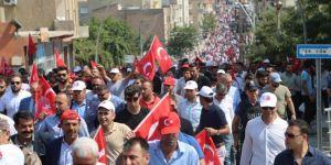 Şırnak'tan PKK'ye tepki, eylemdeki annelere destek