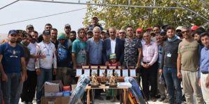 Hilvan'da buluşan olta balıkçılarına ödülleri verildi