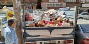 Bağlar Belediyesi tarihi geçmiş süt ve süt ürünleri ele geçirdi