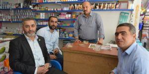 HÜDA PAR Hilvan İlçe Başkanı Göçmen'den bir dizi ziyaret