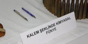 Nusaybin'de kalem şeklinde kimyasal fünye ele geçirildi