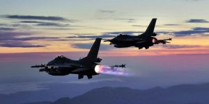 Turkish F-16s in Syrian airspace