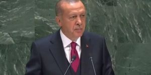 President Erdoğan delivers a speech at UN General Assembly