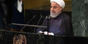 Ruhani: Ambargo ve baskı altında ABD ile müzakereye cevabımız hayır