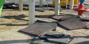 Siirt'te çocuk parkının tahrip edilmesine tepki