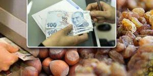 Fındık kuru üzüm hububat ve bakliyat üreticilerine ödeme yapıldı