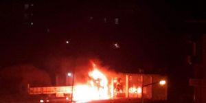 Cizre'de TIR'ın yakıt deposu patladı: 1 ağır yaralı