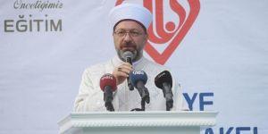 DİB Erbaş: Bu ümmetin gençlerinin elinden Kur'an düşmeyecek