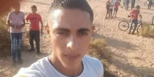 Occupying zionists martyred a young Palestinian