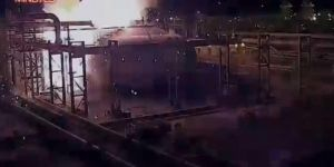 Footage of Aramco attack released